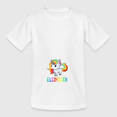 Unicorn Elizabeth - Teenage T-shirt