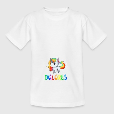 Einhorn Dolores - Teenager T-Shirt