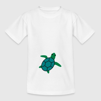 skildpadde - Teenager-T-shirt