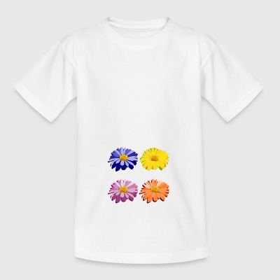 blomster - Teenager-T-shirt