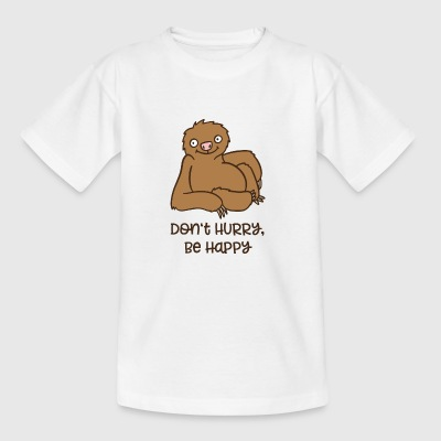 luiaard - Teenager T-shirt