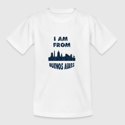 BUENOS AIRES I am from - Teenage T-shirt