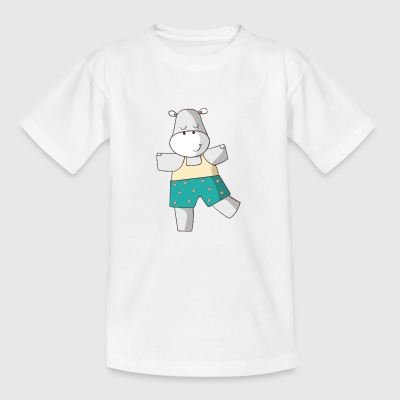 flodhest - Teenager-T-shirt