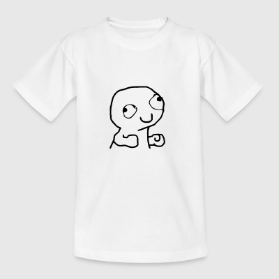 derpy trollface - Teenager T-Shirt
