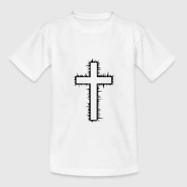 Christian Cross - Teenage T-shirt