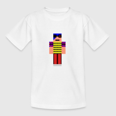 minecraft man - Teenage T-shirt