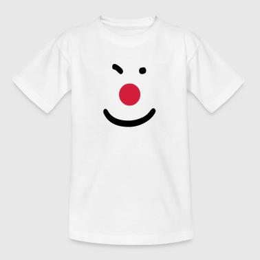 Clown Nase freude - Teenager T-Shirt