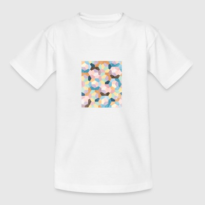 Honeycomb Pastels #001 - Teenage T-shirt