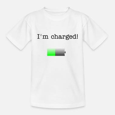 Battery Battery - Teenager T-Shirt