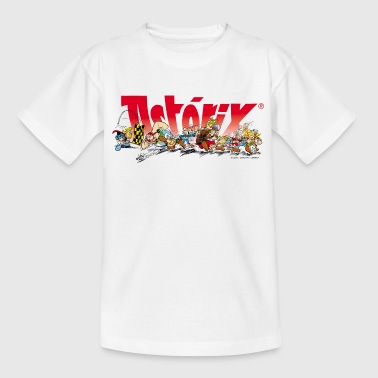 Asterix & Obelix Rennstart Teenager T-Shirt - Teenager T-Shirt