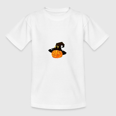 Halloween-Magie Kürbis - Teenager T-Shirt