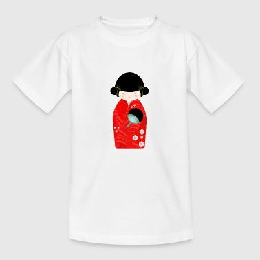 Kokeshi dukke - Teenager-T-shirt
