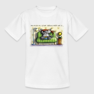 piratenkatze couch - Teenager T-Shirt