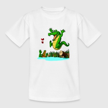 Fun croco ! - T-shirt Ado