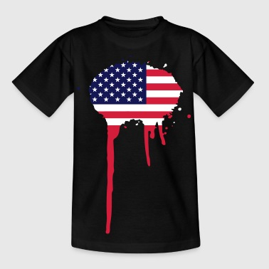 United Splash of America - vlag - Teenager T-shirt