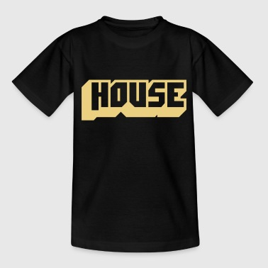 music house - Camiseta adolescente