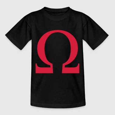 omega greek - Teenage T-shirt