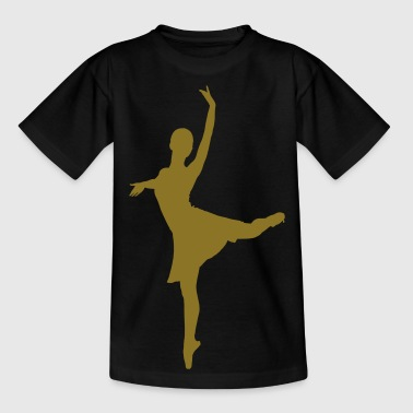 dance music ballet - Camiseta adolescente