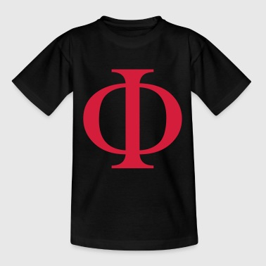 phi greek - Teenage T-shirt