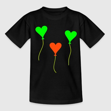 Luftballons Luftballon Luftballon - Teenager T-Shirt