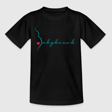 babybauch - Teenager T-Shirt