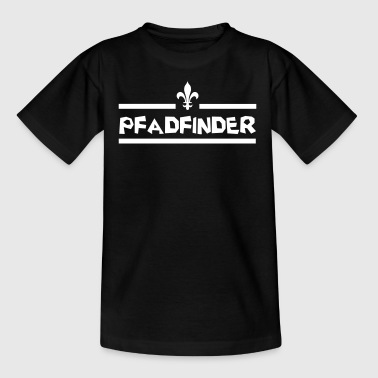 scouting pfadfinder lilie shirt24 - Teenager T-Shirt