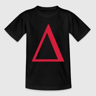 delta greek - Teenager-T-shirt
