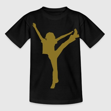 dance music ballet people - Camiseta adolescente