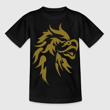 Eagle Tattoo tribal tattoo eagle - Teenager T-shirt