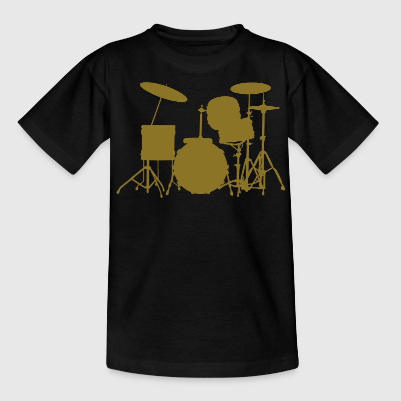 music drums drum set - Teenage T-shirt