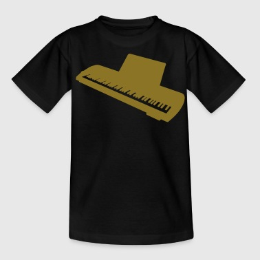 music keyboard piano - Camiseta adolescente