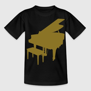 music piano grand piano - Teenage T-Shirt
