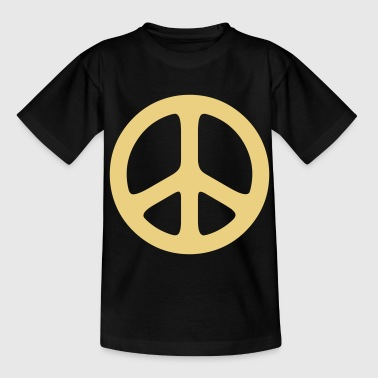peace sign hippie - T-shirt Ado
