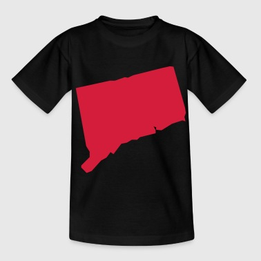 connecticut usa - Camiseta adolescente