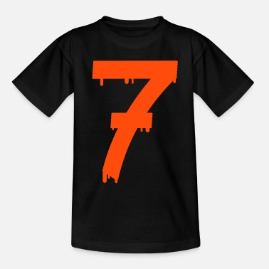 Lucky Number lucky number seven - Teenage T-Shirt