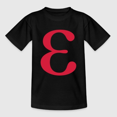 epsilon greek - Teenage T-shirt