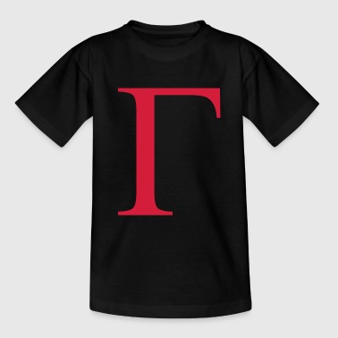 gamma greek - Teenager T-Shirt