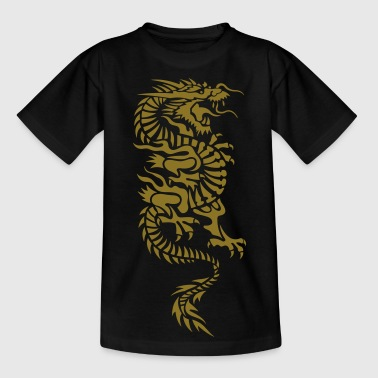 chinese dragon tribal - Teenager T-shirt