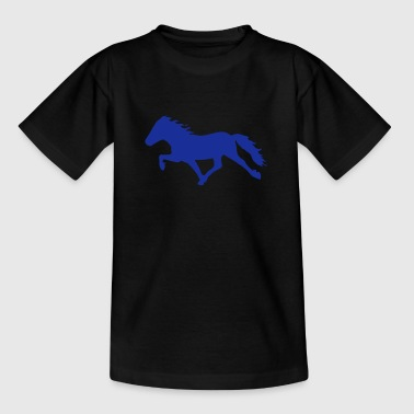 Iceland Horse - Teenage T-shirt