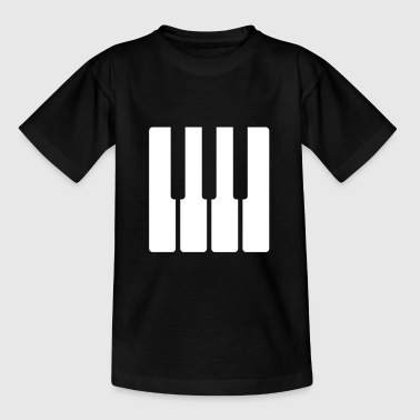 Piano Long Sleeve Shirts - Teenage T-shirt