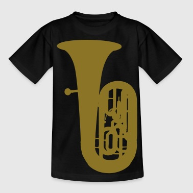 music tuba brass - T-shirt Ado