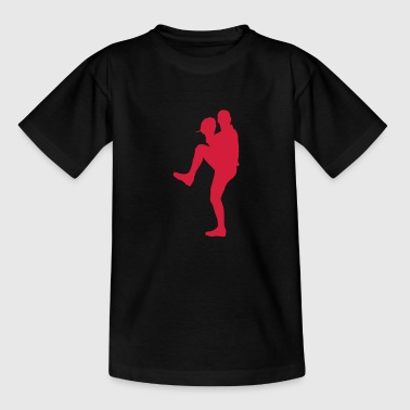 baseball - Teenager-T-shirt