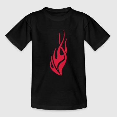 tribal flame - Camiseta adolescente