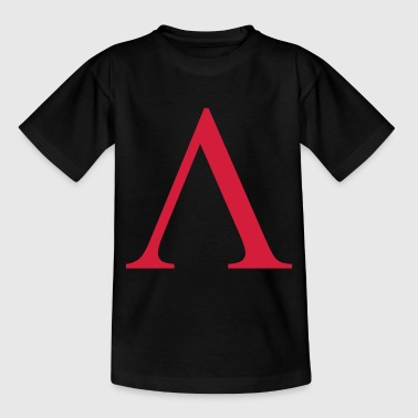 lambda greek - Teenager-T-shirt
