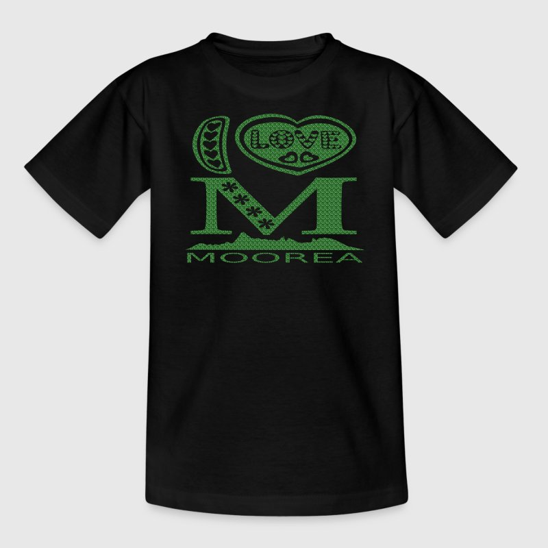 Create your own I LOVE MOOREA t-shirts & souvenirs  - Teenage T-shirt