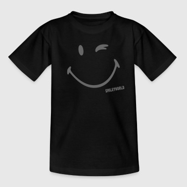 SmileyWorld - Glitter Blink - Teenager T-Shirt