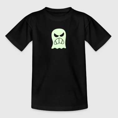 Angry Halloween Ghost - Teenage T-shirt