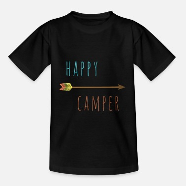 Boot Camp Happy Camper - Camping Camp zomer shirt - Teenager T-shirt