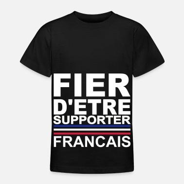Allez Les Bleus Supporter francais france Allez les bleus - T-shirt Ado 96443855551c