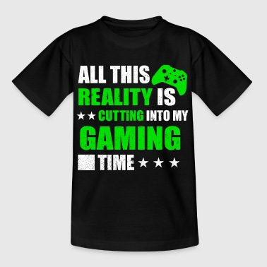 INTO MY GAMING TIME 2 - Teenager T-shirt